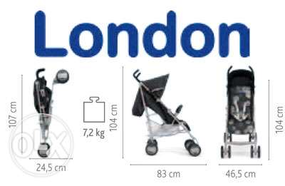 New Chicco London Stroller