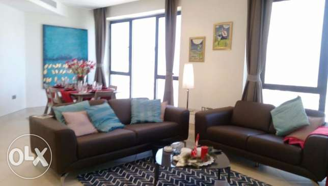 Two bedroom apartment in Bneid Al Qar, KD 950.