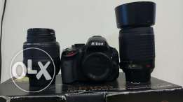 Nikon D5100 with 2 lenses for imediate sale
