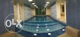 Large 2 bedroom with pool and gym