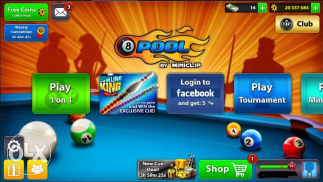 8 Ball Pool Coins Sale !