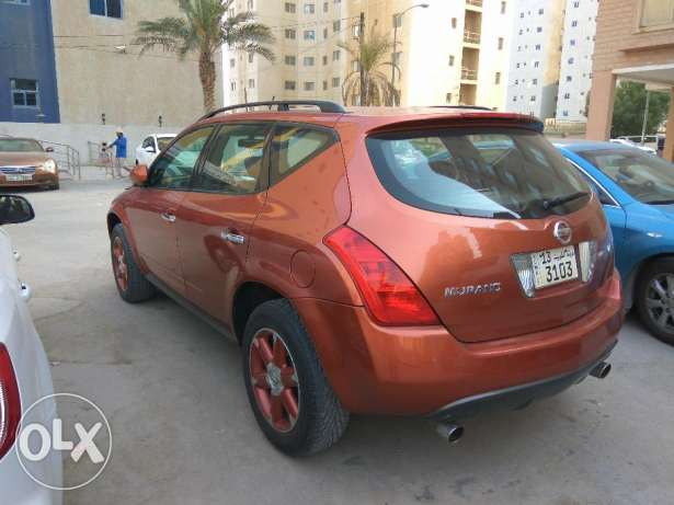 NISSAN MURANO in excellent condition مهبولة -  1