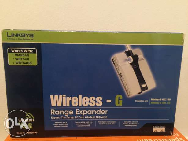 Linksys Range expander ( network booster)