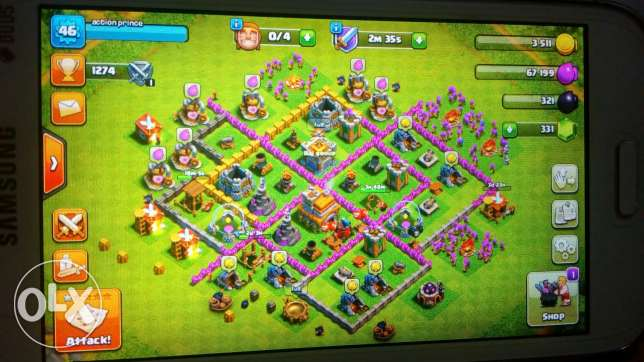 Clash of clans level 7