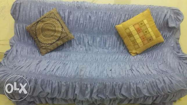 3 piece sofa and 6 piece cushion