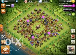 clash of clans قرية تاون ١١ ماكس بدرع الليجيند