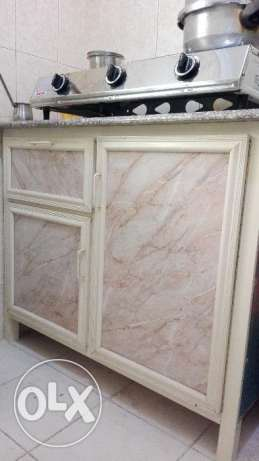Kitchen cabinet with granite countertop available for sale