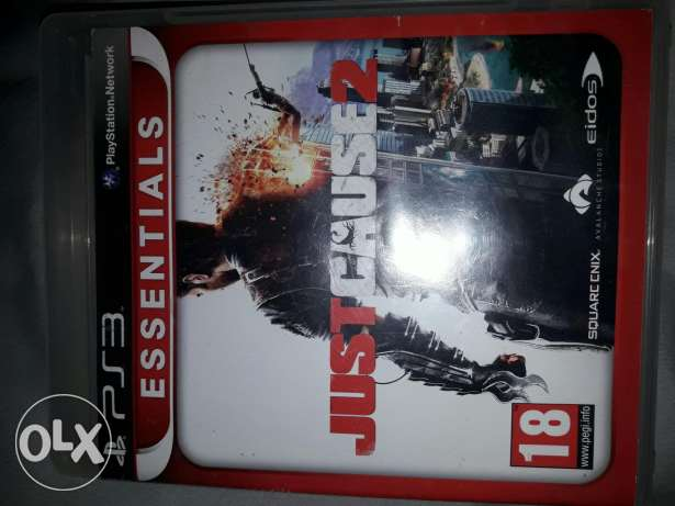 Ps3 game just cause 2
