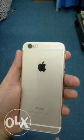 iPhone 6 gold colour 128gb like a new iPhone