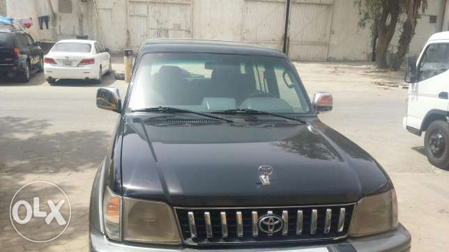 Toyota prado orginal paint neat and clean with sunroof