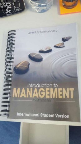 Introduction to Management 12th Edition by John R. Schermerhorn, Jr.