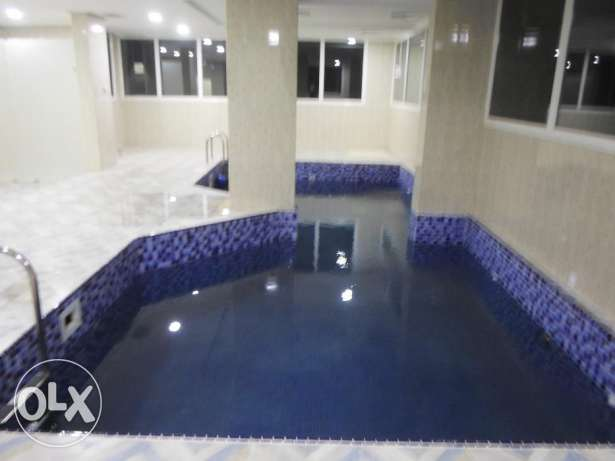 Fully furnished & equipped 2 bedroom apartment with pool in mangaf.