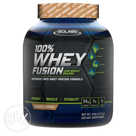 Isolabs 100% Whey Protien Fusion 5Lbs