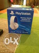 Headset for play station four/سماعه بلاي ستاشن فور