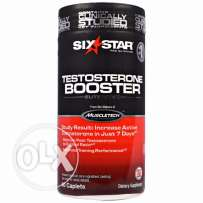 Muscletech - Six Star Testosterone Booster - 60 Tablets