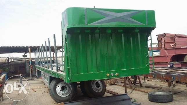 brand new flat bed 3 axle trailer with BPW kit for sale