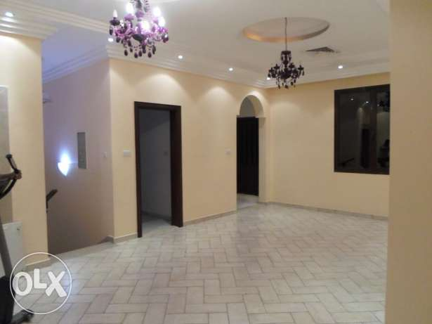 Seaview 4 bedroom floor with huge sunny balcony for rent in mangaf.