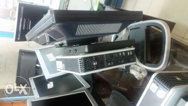 Hp core 2duo 2gb ram 250 hardisk dvd wiriter 19 lcd all in one 3