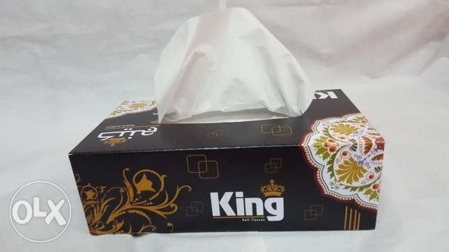 Arabia Tissue Box For sale 28.750kd (250 Boxes)