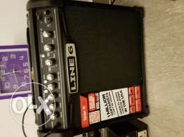 Jackson Dinky JS 32 and Line 6 amp
