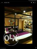 King size bed and single bed