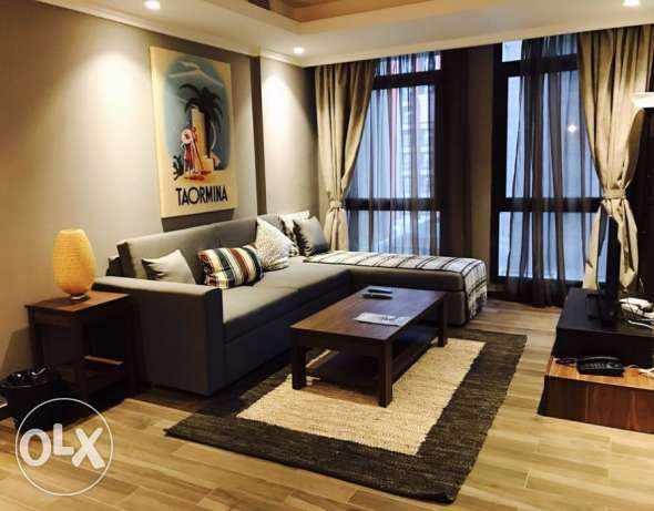 New,modern 1 bdr furnished apt in Bned Al Gar