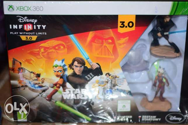 Disney infinity 3.0 starter pack with two characters for Xbox 360 السالمية -  2