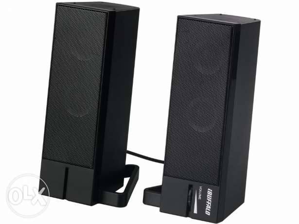 Buffalo USB power supply and sound source Speaker - FREE DELIVERY