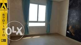 seaview semifurnish two bedroom flat for rent in Salmiya, with Balcony