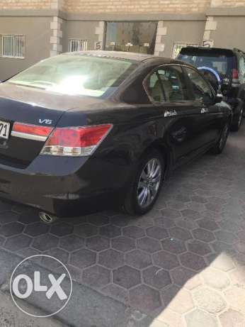 HONDA ACCORD 2012 3.5L V6 Full Option
