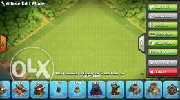 Clash of clans town hall 11 lvl 160 almost max