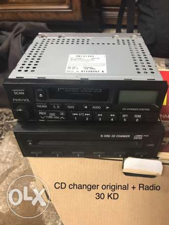 "CD changer 6 CD ""original"""