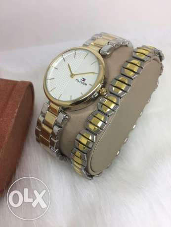 Watch with braclet