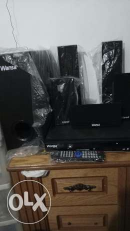 Wansa all in one home theater dvd two day use fresh peacea