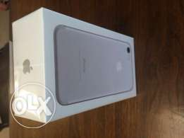 Brand new sealed box iphone 7 plus 128gb silver
