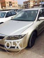 Mazda 6 Car for Sale - Golden Color - 2007 Model - KD 600