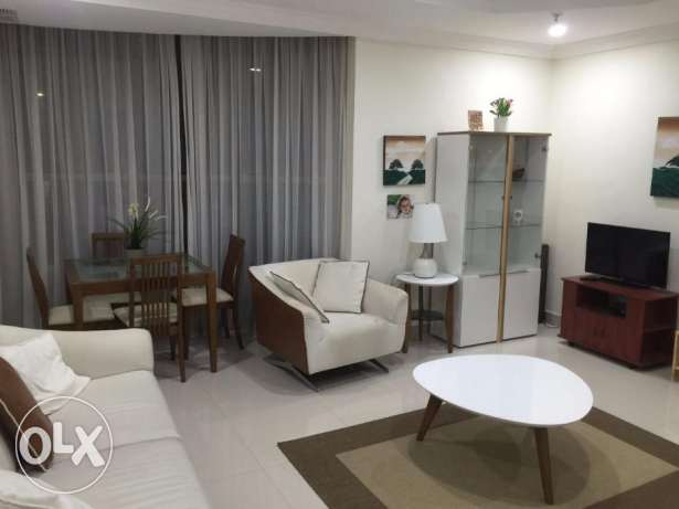 Fully furnished two bedroom flat in Sharq - Hilite homes Real Estate