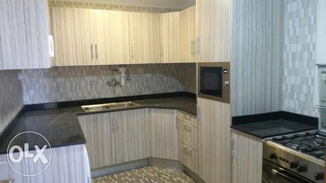 Sabah Al Salem new flat semi furnished 3 bedrooms