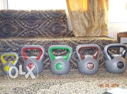 Compete Entry Level Set of Kettlebells Only 15 Kd Mahboula