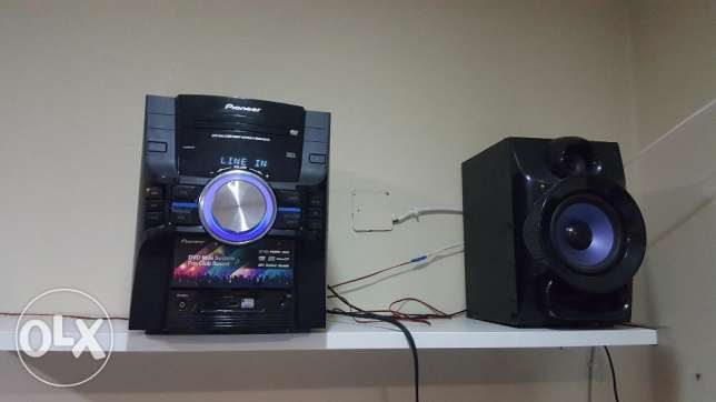 Pioneer Music System 2.1 with Woofer for Sale