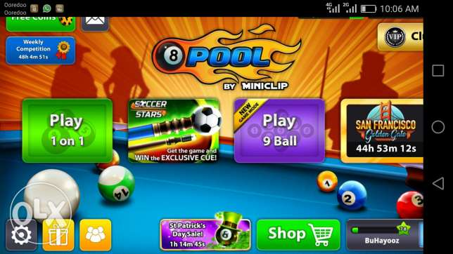 8ball pool 1billion account for sale