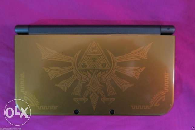 Nintendo 3DS XL Hyrule Edition Video Game Console - Condition Like Min