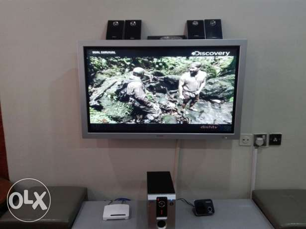 Sony 42° tv with Additional sound system