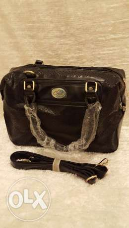 Hand bag black color