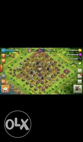 clash of clans TH 11Maxxed 6000 gem/change name كلاش اوف كلانس لفل 11