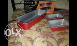 Ambiance loaf cake pan 3 in 1 set