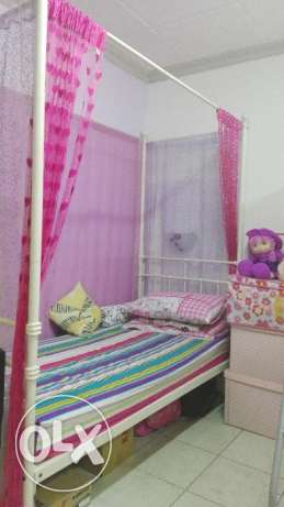 Beautiful & colorful Single cot