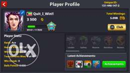 8 ball pool premium account lvl 104