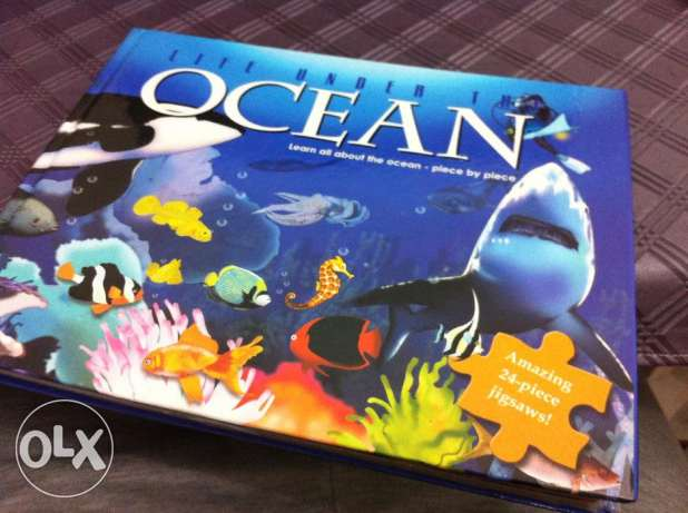 Learn About Ocean In Puzzles (NEW SEALED)