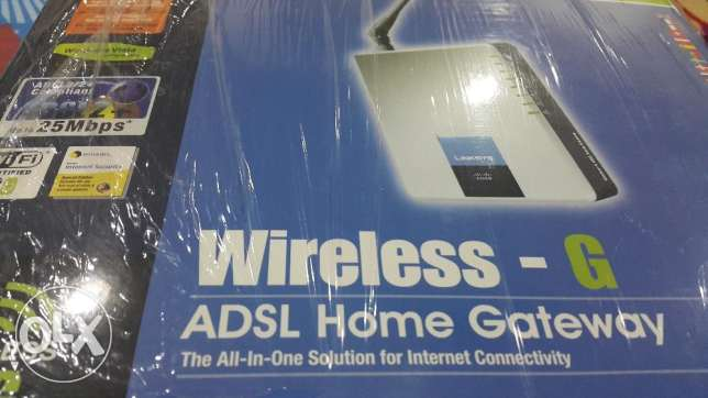 Wireless- G ADSL Home Gateway Linksys (as good as NEW)